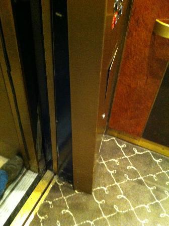 Loose Elevator Panel