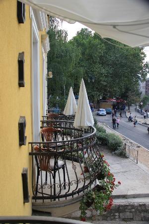 Hotel Latinski Most: The balcony