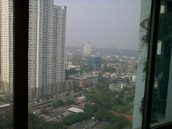 Shangri-La Hotel Jakarta: view