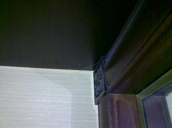 شانجريلا هوتل - جاكرتا: cobweb in room