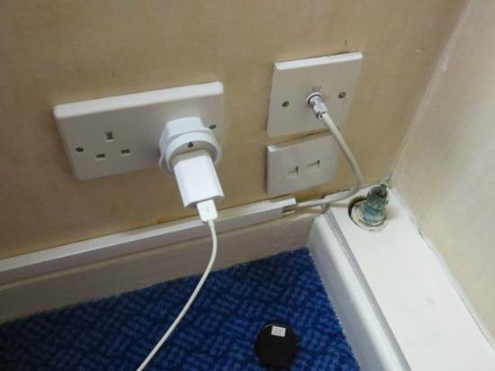 Thistle City Barbican: only working socket