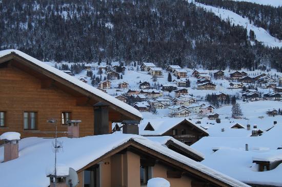 Hotel Posta: Vista parcial da cidade