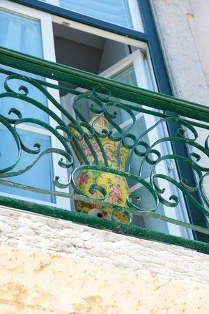 Hall Chiado: Balcony
