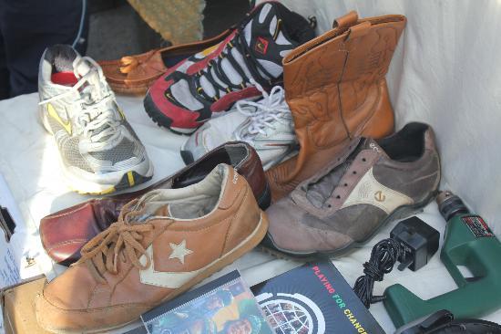 Brick Lane: scarpe