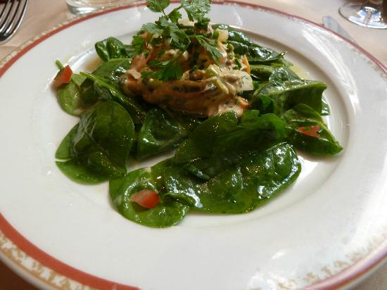 Mussel salad - Picture of La Maison du Jardin, Paris - TripAdvisor