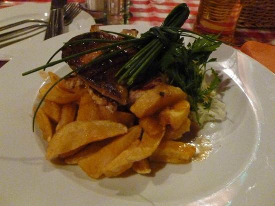 Voros Postakocsi Restaurant : Siebenbürger Platte