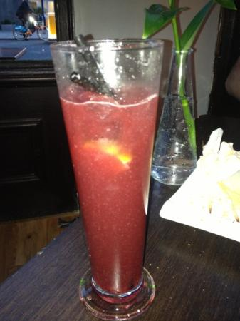 Southwark Rooms: My specially created cocktail