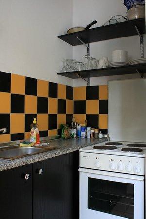 Palais Winterfeldt: Kitchen