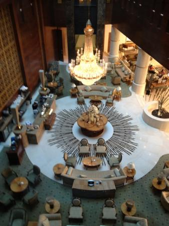 Millennium Hotel Doha: The lobby.