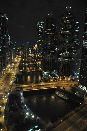 Wyndham Grand Chicago Riverfront: The view