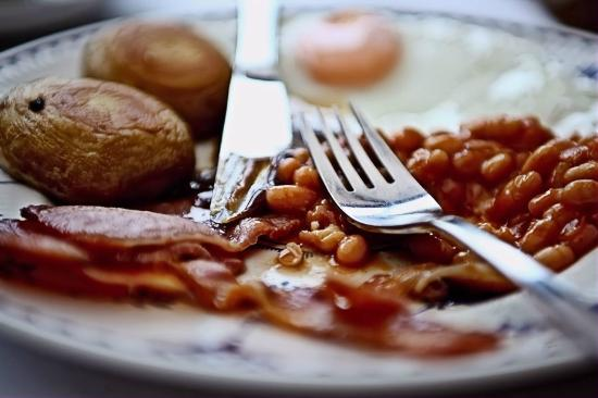 Redgate Smithy B&B: Plenty of options to fill you up at breakfast.