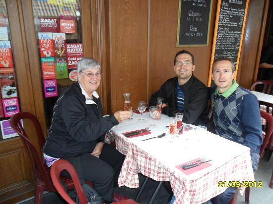 Restaurant ST Benoit : Sur la terrasse
