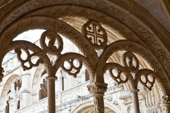 Jeronimos-klostret  (Mosteiro dos Jeronimos): Archway