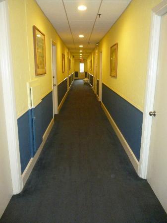 Princess Ann Hotel: Pasillo de ingreso a las habitaciones
