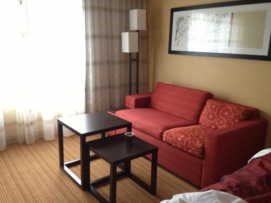 Courtyard by Marriott Albany Thruway: cool furnishings and smart design