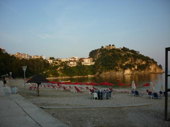 Valtos Beach & Gogozotos Residence: view from hotel (well 20 yards away)