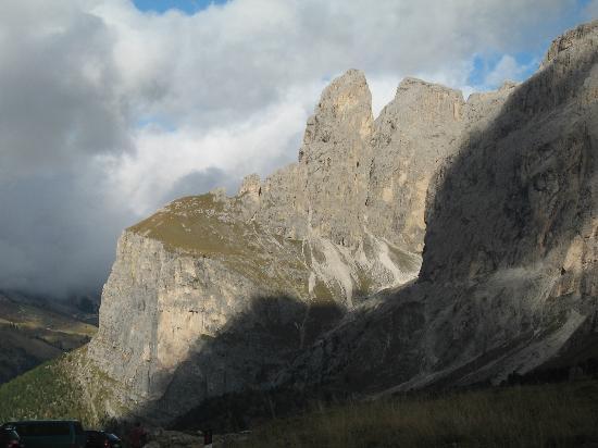 Sella Ronda: Ausblick vom Grödnerjoch