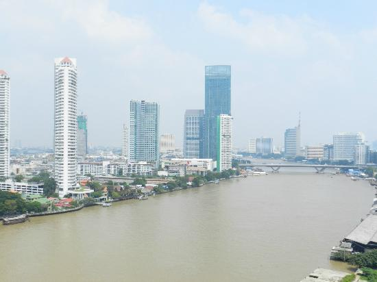 Chatrium Hotel Riverside Bangkok : One Bed Grand Suite view