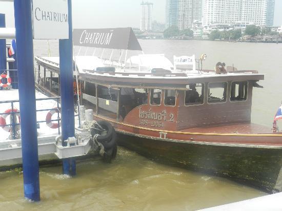 Chatrium Hotel Riverside Bangkok: Shuttle boat