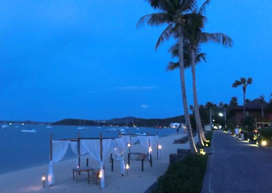 Hansar Samui Resort : 'road' to Fishermen's Village