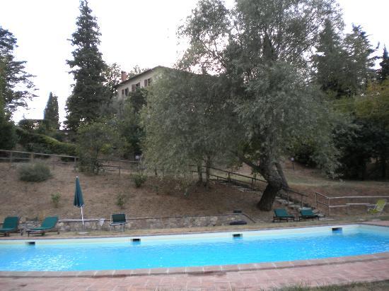 San Lorenzo della Rabatta: Veduta dalla piscina
