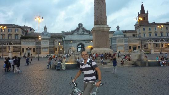 Domus Quiritum B&B : Emiliano's 'Bicycle Tour of Rome'