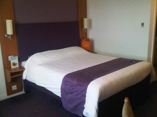 Premier Inn Newport/Telford Hotel: Very comfy bed