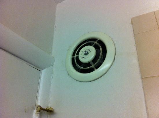Greenwich Inn: Ventola in bagno