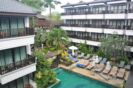 Aonang Buri Resort: The pool