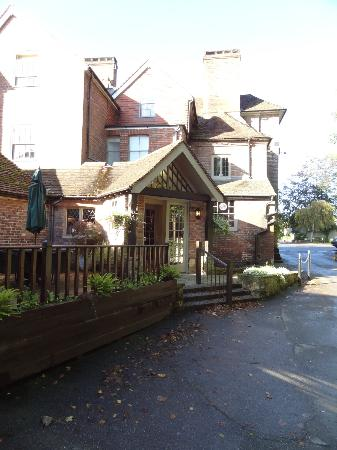 Chequers Inn: reception area