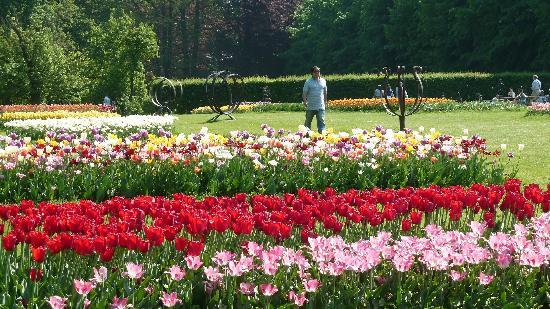 グランビガール城外観 - Picture of Floralia - Spring Flower Show ...