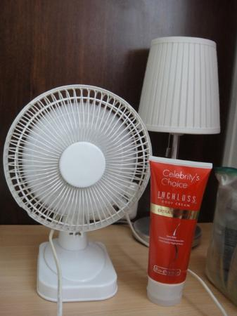 Hotel Italia: the little fan the hotel provide