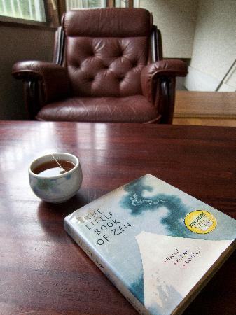 Earth Hostel: Great place to spend a rainy afternoon reading