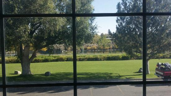 FairBridge Inn & Suites Idaho Falls: River view. Not bad.