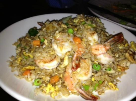 Lily Thai Cuisine: Shrimp Fried Rice ,awsome tasting