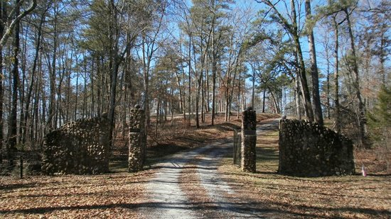 Washington, GA: Kettle Creek Revolutionary War Historic site - entrance