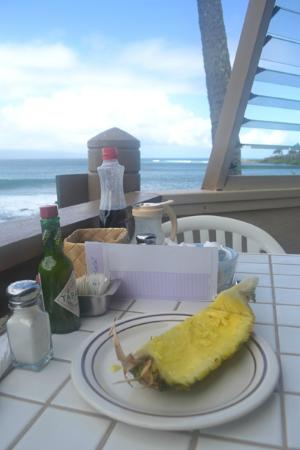 The Ritz-Carlton, Kapalua: Gazbo Restaurant, just down the road from the Hotel