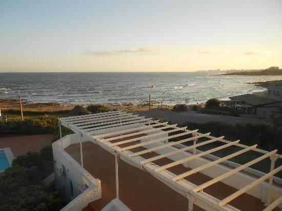 La Posta Del Cangrejo: Vista desde la habitación hacia el oeste