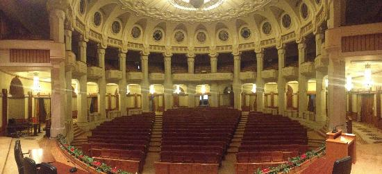 Palace of Parliament: Theater inside the building
