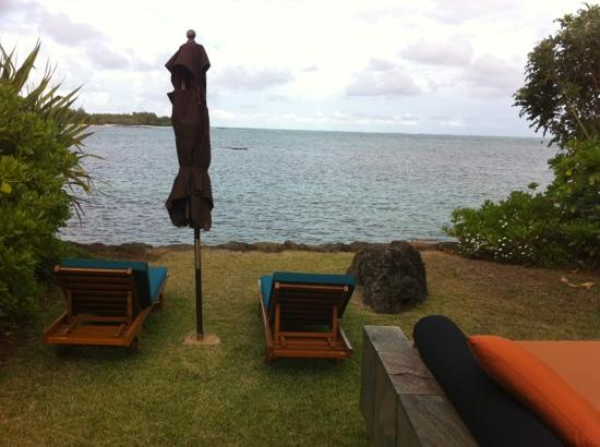 Four Seasons Resort Mauritius at Anahita : Ocean villa private view
