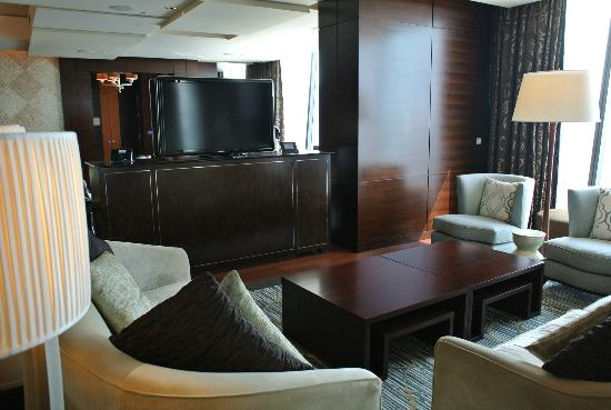 Marina Bay Sands Living ROom 2 At Presidential Suite