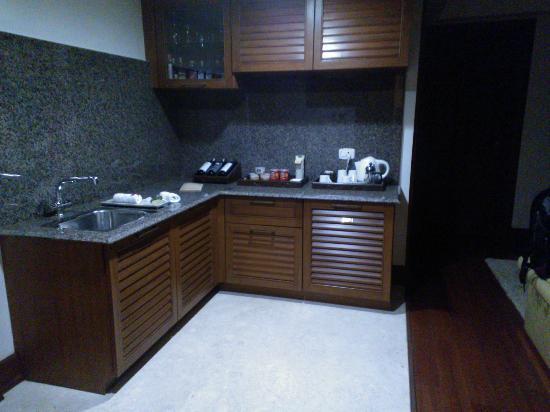 The Paul Bangalore: Executive room kitchen.