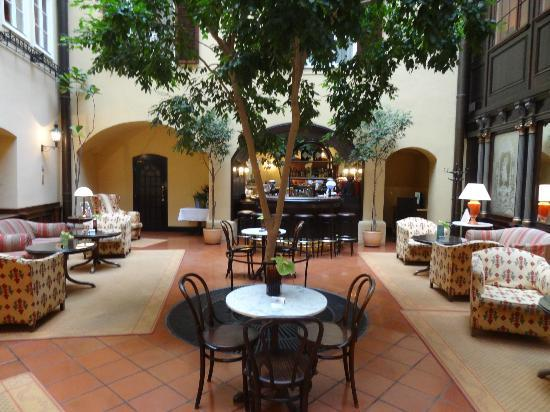 Hotel Konig Von Ungarn: Lounge
