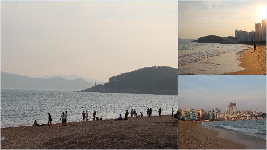 Haeundae Beach: View of the beach