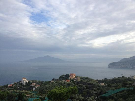 Il Nido Hotel Sorrento: The view from our room
