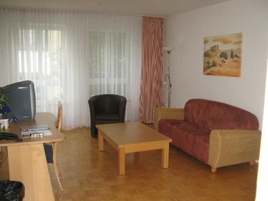 Residenz am Zuckerberg: Living Room in Room #140