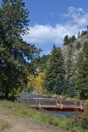 North Fork Ranch: Great for fishing or relaxing