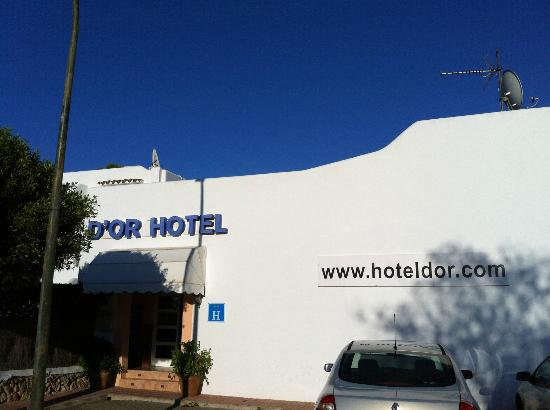 Hotel D'Or : hotel exterior