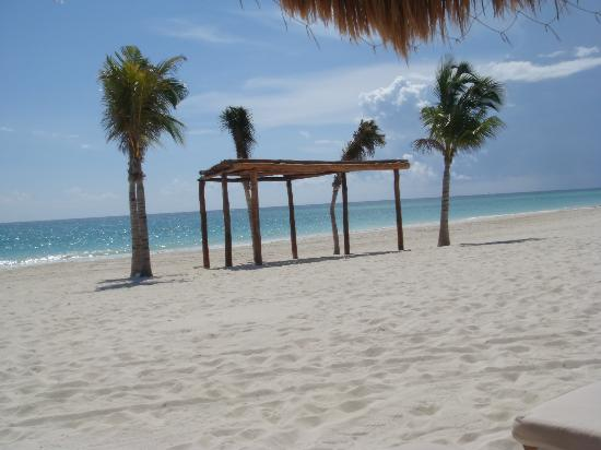 Secrets Maroma Beach Riviera Cancun: wedding area at beach