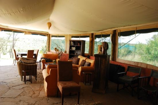 Kicheche Valley Camp: lounge